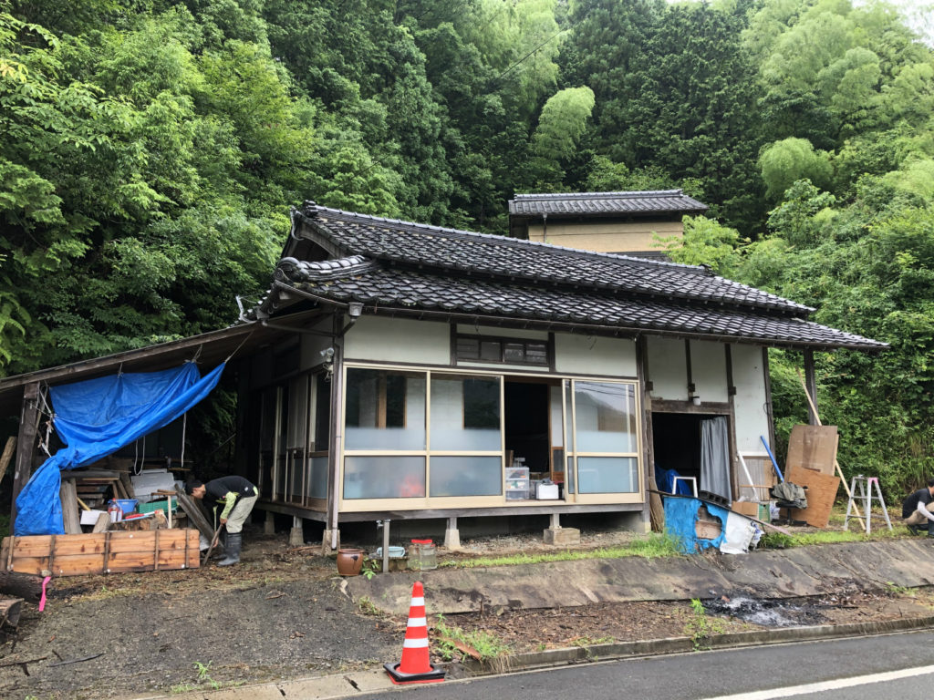 Read more about the article ジビエの解体処理施設「寒山」の工事が始まりました。